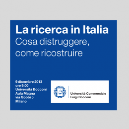 Bocconi's sympathy for destruction: una VQR a doppio taglio