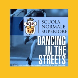 Normale di Pisa nella top 100: dancing in the streets?
