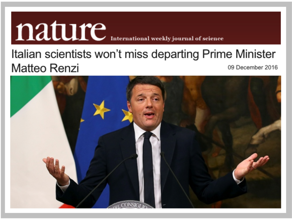 nature_renzi_will_not_be_missed_by_italian_scientists