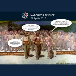 La March for Science italiana tra ASN e accreditamento dei dottorati: Vediamo Quanto Resisterete! (VQR)
